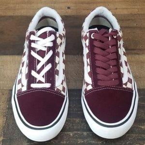 777e9df71a4d99 Vans Shoes - Vans Old Skool Pro Port Royal Checkered Skate Shoe
